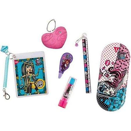 Kit Escolar Monster High - Material Escolar