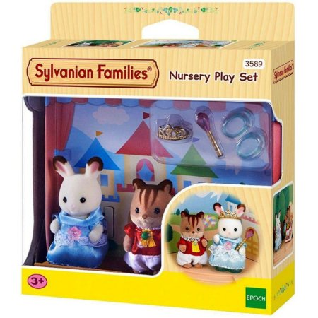 Conjunto Jardim Da Infância Sylvanian Families