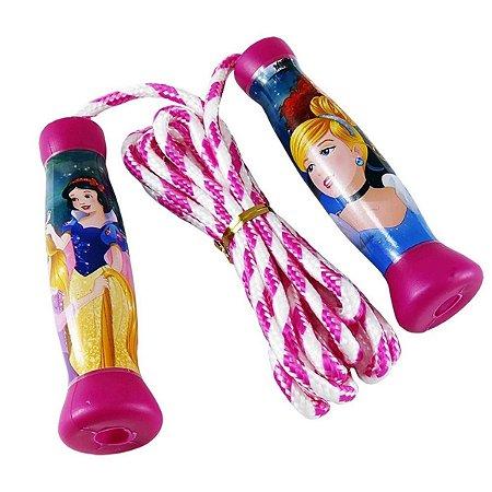 Corda De Pular Plástico Princesas