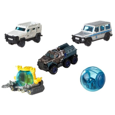 Pack de 5 Matchbox - Jurassic World