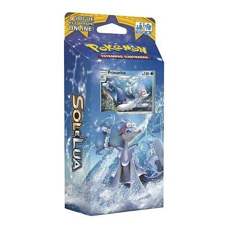 Pokémon Deck 60 Cartas Sol E Lua Maré Brilhante