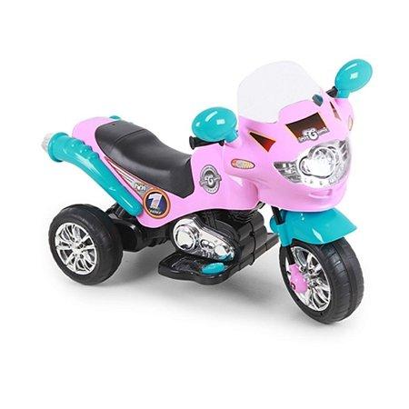 Moto Elétrica Speed Chopper 6V Rosa E Turquesa