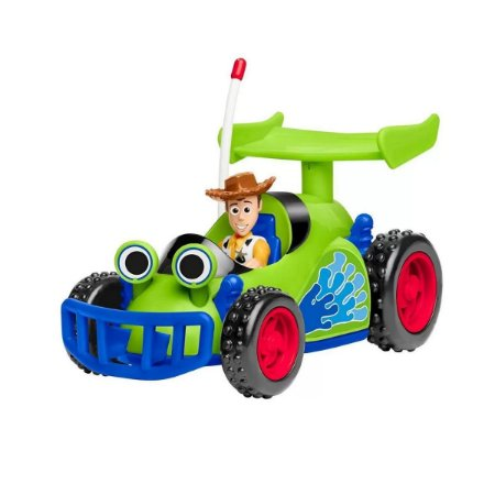 Imaginext Toy Story Woody Com Veículo - Mattel
