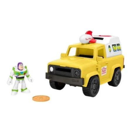 Imaginext Toy Story Buzz Lightyear Pizza Planet Truck
