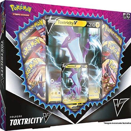 Box Pokémon - Coleção - Toxtricity V - Copag