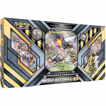 Pokémon Box Coleção Premium Mega Beedrill-EX