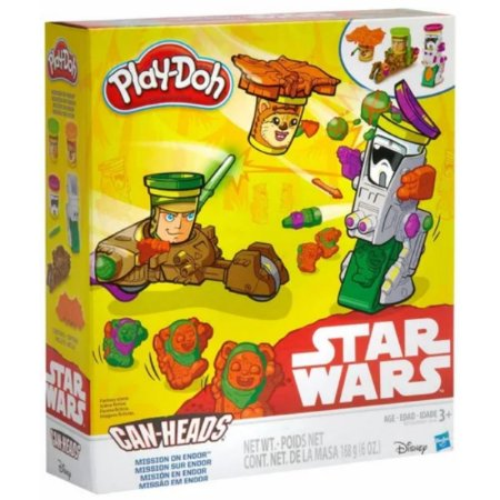 Play-Doh Hasbro Star Wars - Missão em Endor