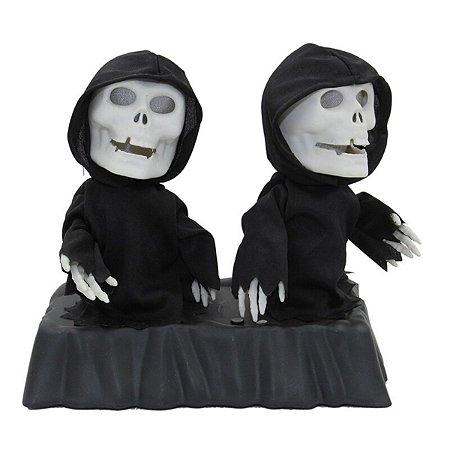 Caveira Animada Reaper Canta e Dança