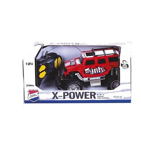 Carrinho de Controle Remoto X-Power Off Road - Pica Pau