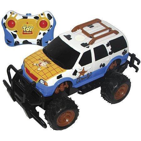 Carro Controle Remoto Toy Story 3 Funções - Candide