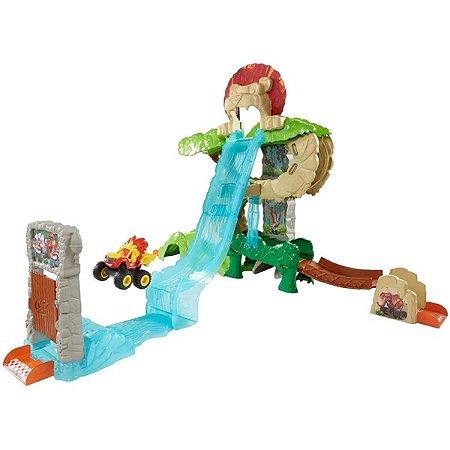 Blaze Super Pista Aventura Na Selva - Mattel