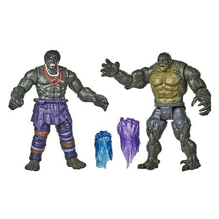 Boneco Marvel Gamerverse Hulk Vs. Abomination - Hasbro