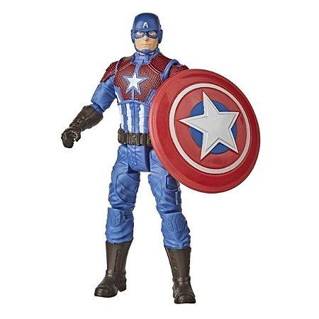 Boneco Marvel Gamerverse - Capitão América - Hasbro