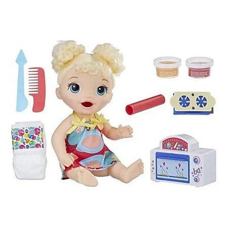 Baby Alive Meu Primeiro Forninho Loira - Hasbro