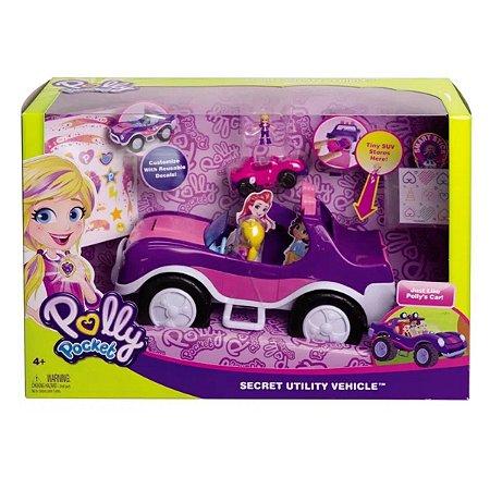 Veículo Secreto de Polly - Mattel
