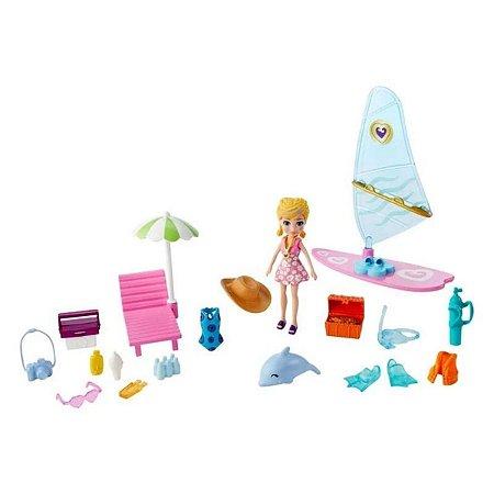 Polly Pocket - Aventura na Praia - Surf - Mattel