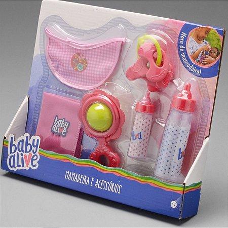 Kit Mamadeira Mágica com Acessórios Baby Alive - Toyng