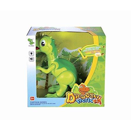 Dinossauro Com Movimento Baby Dino + Som E Luz - Pica Pau
