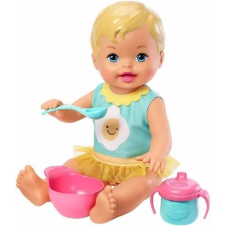 Boneca Little Mommy Bebê Hora Do Café Da Manhã - Mattel