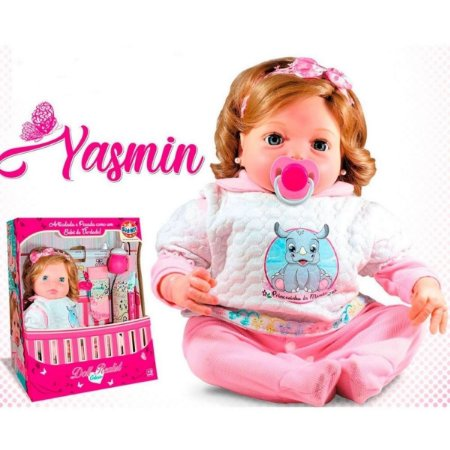 Boneca Doll Realist - Yasmin
