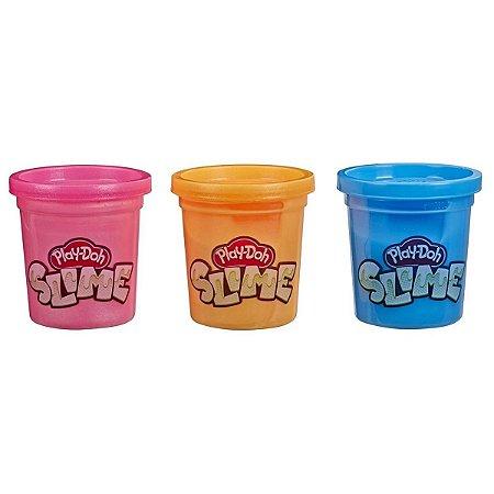 Play Doh Slime Com 3 Potes