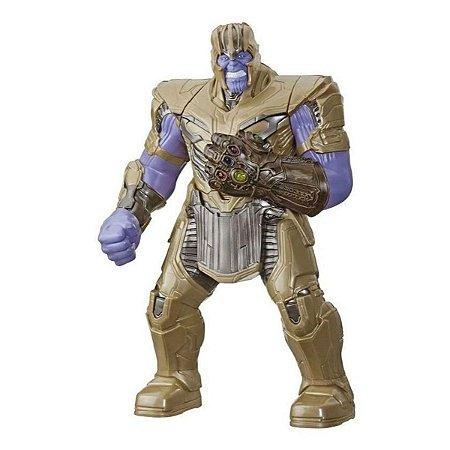 Boneco Power Punch Thanos Com Som E Luz