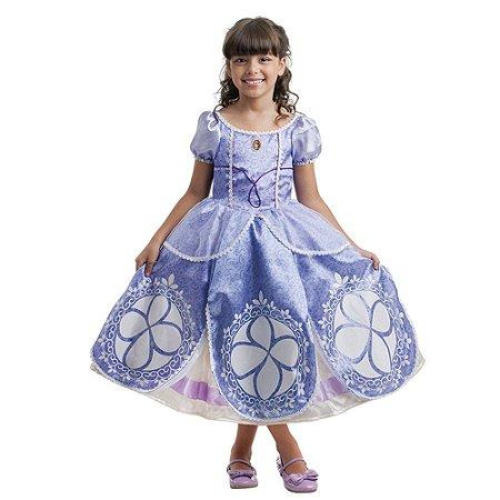 Fantasia Infantil Princesinha Sofia Disney Luxo Multibrink G