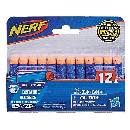 Refil Dardos Nerf Elite Com 12