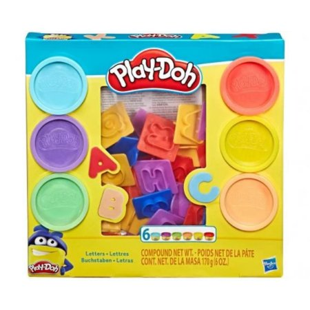 Massinha Play Doh Letras