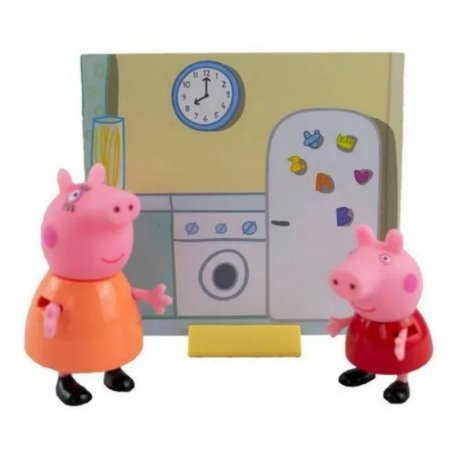 Figuras Da Peppa - Mamãe Pig E Peppa Pig 2300 Sunny