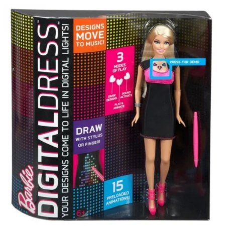 Barbie Vestido Digital - Mattel