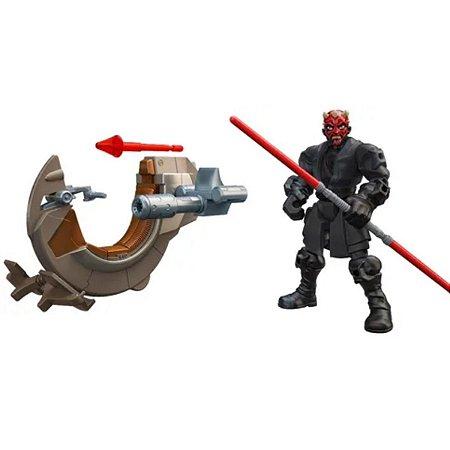 Star Wars Hero Mashers-Sith Speeder & Darth Maul