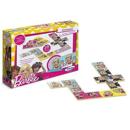 Jogo de Dominó Barbie - Xalingo