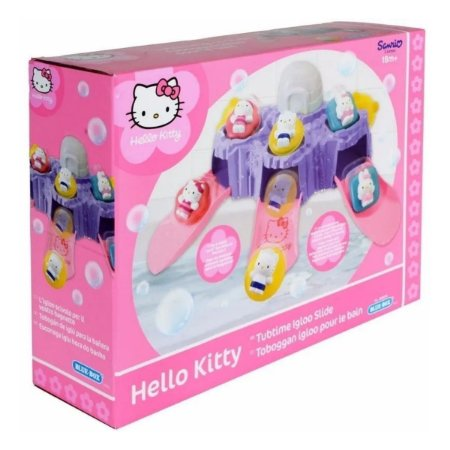Hello Kitty Tobogan Iglu Hora Do Banho - Long Jump