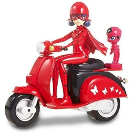 Miraculous Ladybug Boneca Com Moto Scooter - Sunny