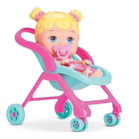 Boneca Little Dolls Passeio - Divertoys