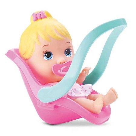 Boneca Little Dolls Bebê Conforto 2 em 1 - Divertoys