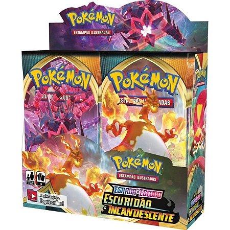 Box Pokémon Escuridão Incandescente