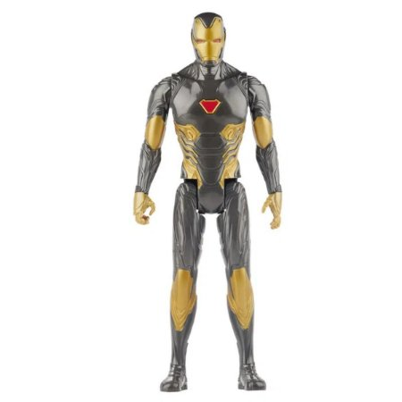 Titan Heroes - Marvel Avengers - Iron Man Black Suit - Hasbro