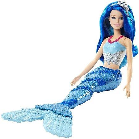 Barbie Dreamtopia Sereia Azul Boneca - Mattel