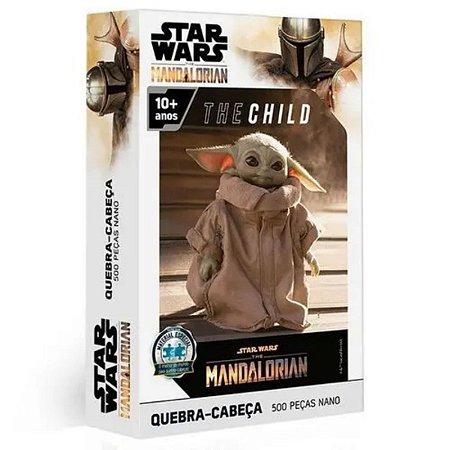 Quebra-Cabeça 500 Peças - Nano Star Wars The Mandalorian The Child