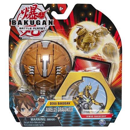 Bakugan - Figura Gigante - Aurelus Dragonoid - Sunny