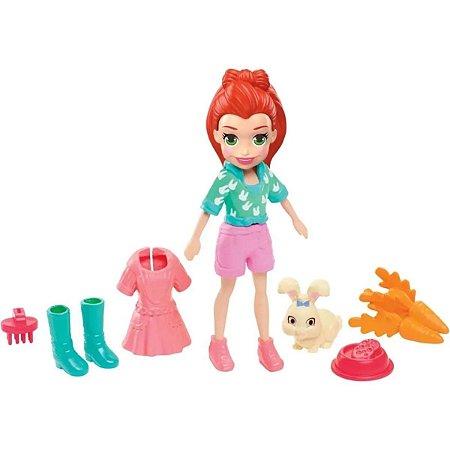 Polly Boneca com Bichinho - Mattel