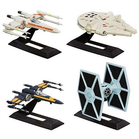 Conjunto 4 Veículos Die Cast – Titanium Series – Star Wars – O Despertar da Força – Hasbro
