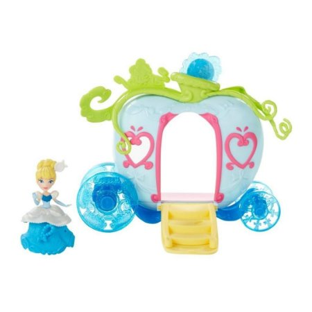 Conjunto Princesas Disney Mini Cenário Luxo Cinderela - Hasbro