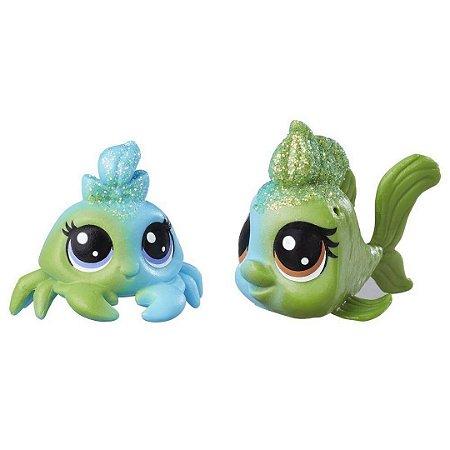 Seafoam Dupla Arco íris Littlest Pet Shop - Hasbro
