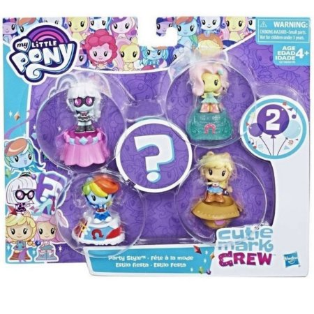 My Little Pony  Cutie Mark Crew Estilo Festa - Hasbro