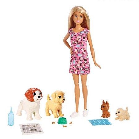Boneca Barbie - Treinadora de Cachorrinhos - Mattel