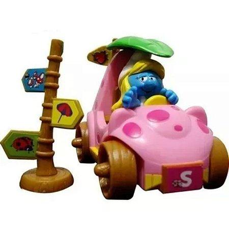 Os Smurfs Carrinho De Fricção - Smurfette Sunny
