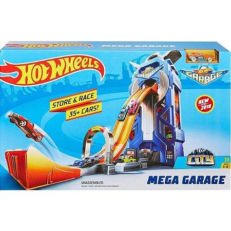 Pista Hot Wheels Mega Garagem Original - Mattel
